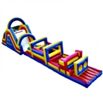 Commercial Grade Inflatable Slide Obstacle Course