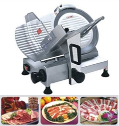 "Heavy Duty Commercial Electric Meat Slicer 250mm 10"" BLADE 0.2-12mm THICKNESS"