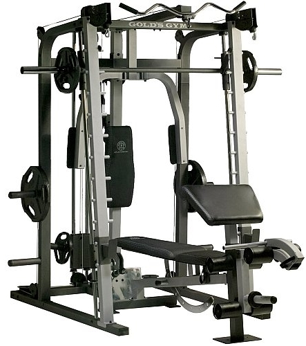 Top Exercise Equipment: Brand New Gold's Gym Platinum Home Gym Includes Smith