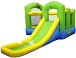 Inflatable Castle Bouncer Bouncy House 6 in 1 Water Slide