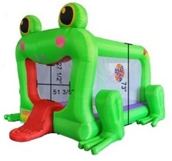 Frog Inflatable Bounce House w/ Blower at Sears.com