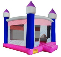 Inflatable Girls Moon Bouncer Castle w/ Blower at Sears.com