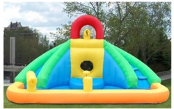 Inflatable Castle Bouncer With Water Slide at Sears.com