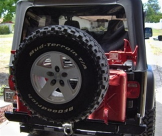 Jeep Tire Carrier Kit