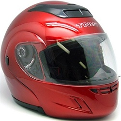 Flip Up Modular Full Face Motorcycle Helmet (DOT Approved)