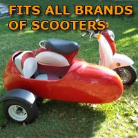 Scooter Ramps For Cars >> All Brands Side Car Scooter Sidecar Kit