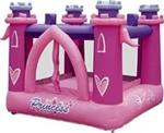Inflatable Little Princess Bouncer