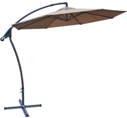Brand New 10' Hanging Cantilever Patio Umbrella
