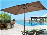Brand New 10' x 6.5' Patio Umbrella w/ 26 LED Lights