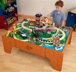 Brand New Lights & Sounds Train Set & Table