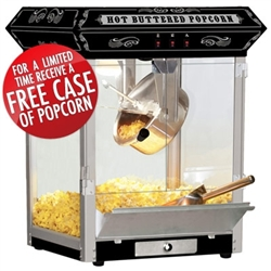 Brand New Carnival Style 8oz Hot Oil Popcorn Machine