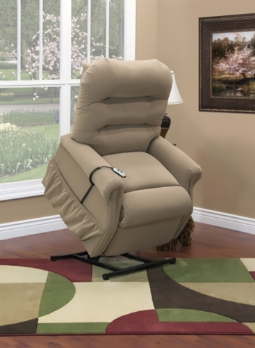 Aaron three way reclining lift chair for Bella berry chaise