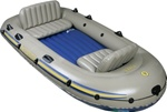 4 Person Excursion Inflatable Boat Set