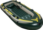 4 Person Inflatable Boat Set