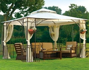 High Quality 10 X 12 Outdoor Gazebo With Mosquito Netting