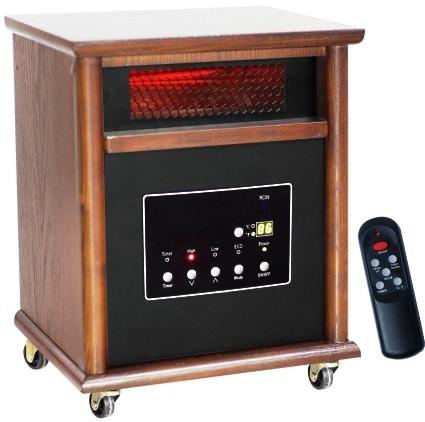 1500 Watt Lifesmart 6 Element Quartz Infrared Heater W