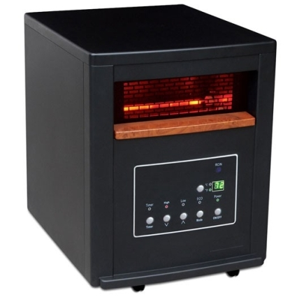 1500 Watt Lifesmart Infrared Quartz Heater W Remote