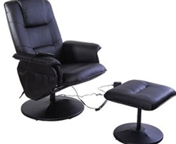 Massaging Chair With Foot Rest
