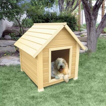 High quality medium size bunkhouse style dog house for Dog houses for medium dogs