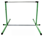High Quality Green 3'-5' Adjustable Gymnastics Bar