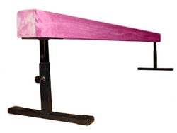 "High Quality Pink 8' Gymnastics Balance Adjustable 12""-18"" High Beam"