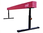 "High Quality Pink 8' Gymnastics Balance Adjustable 14""-24"" High Beam"