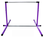 High Quality Purple 3'-5' Adjustable Gymnastics Bar