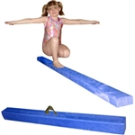 High Quality Blue 12' Gymnastics Folding Beam