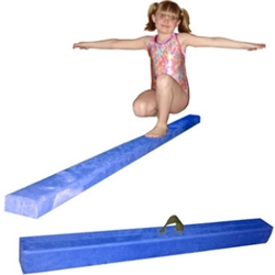 High Quality Blue 8' Gymnastics Folding Beam