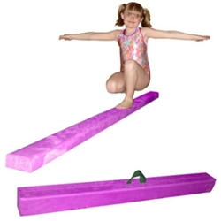 High Quality Purple 12' Gymnastics Folding Beam