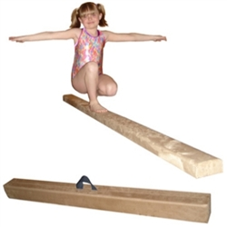 High Quality Tan 12' Gymnastics Folding Beam