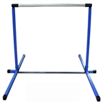 High Quality Blue 4' Horizontal Gymnastics Bar