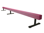 "High Quality Pink 12' Gymnastics Balance 12"" High Beam"