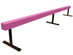 "High Quality Pink 12' Gymnastics Balance 18"" High Beam"