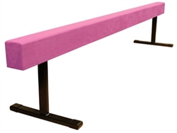 "High Quality Pink 8' Gymnastics Balance 18"" High Beam"