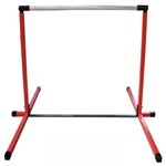 High Quality Red 4' Horizontal Gymnastics Bar