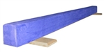 High Quality Blue 8' Gymnastics Balance Low Beam