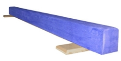 High Quality Blue 6' Gymnastics Balance Low Beam