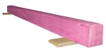 High Quality Pink 8' Gymnastics Balance Low Beam
