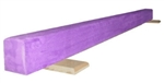 High Quality Purple 6' Gymnastics Balance Low Beam