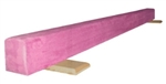 High Quality Pink 6' Gymnastics Balance Low Beam