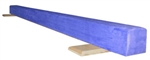 High Quality Solid Blue 10' Gymnastics Balance Low Beam