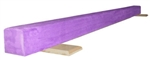 High Quality Solid Purple 10' Gymnastics Balance Low Beam
