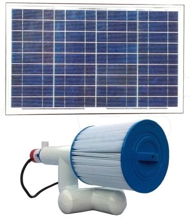 Brand New Bottom Feeder 5 000 Gallon Pool 30 Watt Solar