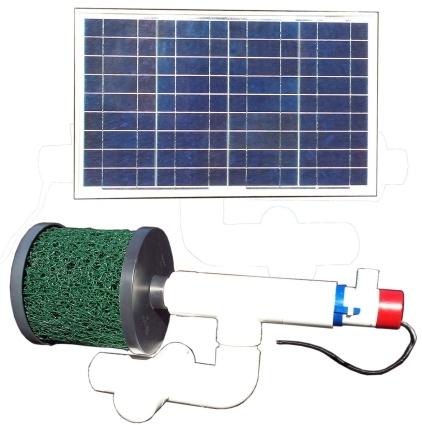 Brand new bottom feeder 5 000 gallon pond 30 watt solar for Solar fish pond filter