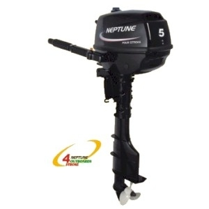 Neptune 5 Hp 4 Stroke Long Shaft Outboard Boat Motor