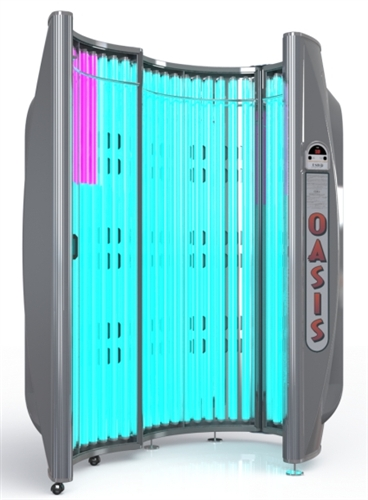 Tanning Beds For Sale >> Oasis 36 Tanning Booth with 70% More Tanning Power