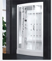 "Brand New Walk In Steam Shower P201 52"" x 39"" x 85"""