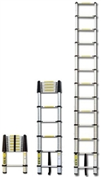 "Portable Aluminum 8.5"" Telescoping Ladder"