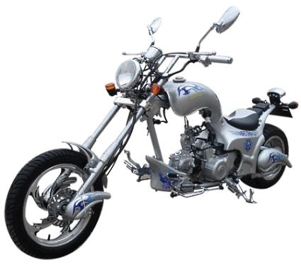 125cc Heron 4 Stroke Single Cylinder Chopper